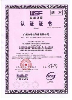OHSMS认证